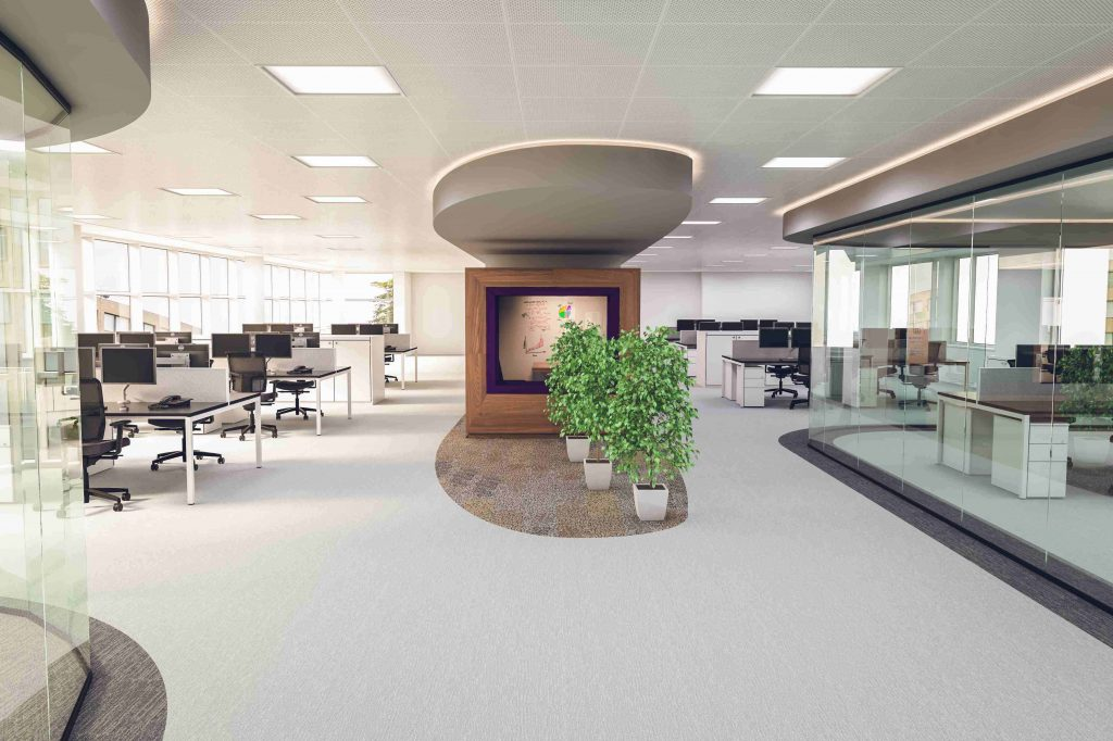 West London Office Contractors Refurbishment Fit Out Glass Partitions Offices Commercial