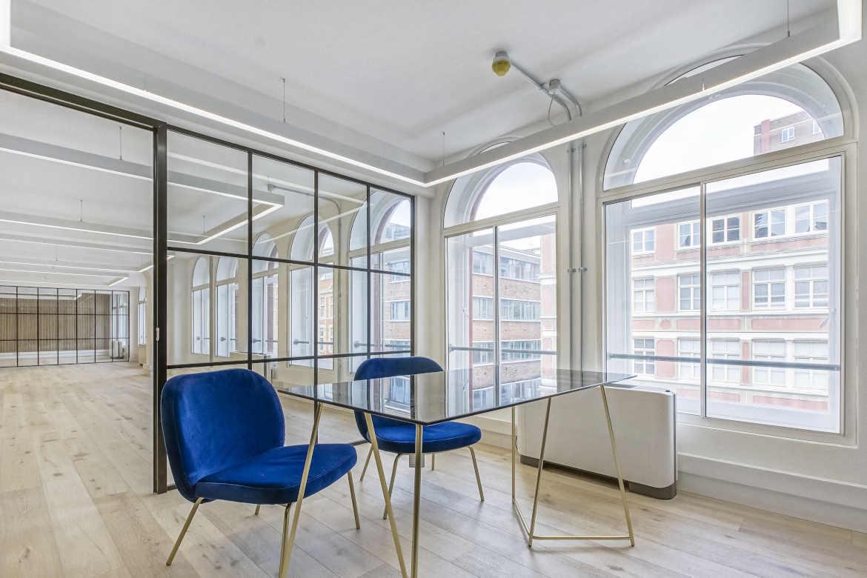 London Old Street Office Refurbishment Contractors Fit Out Hatton Saffron Hill Break Out Rooms 2020-1