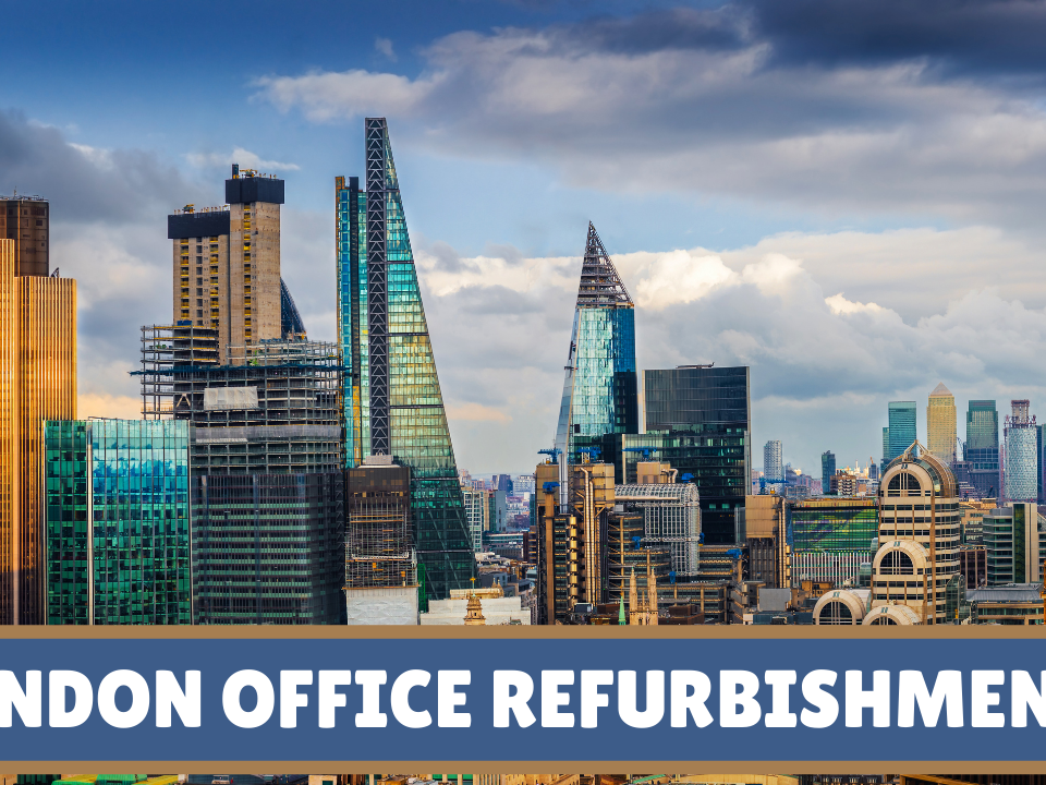 How Long Dows London Office Refurbishment Take 2021 City of London Office Refurbishment Professional Contracting Company Central Independent Fit Out Subcontractors Offices Partition Installations